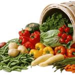 Frutas y verduras con vitamina A