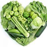 Frutas y verduras sin yodo