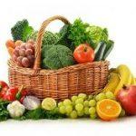 Frutas y verduras con vitamina D