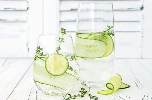 Beneficios agua de pepino: Razones para beberla